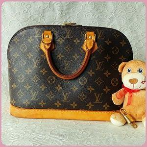 🎉authentic Louis Vuitton Alma🌸 PM. monogram
